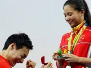 Olympic 2016 - VĐV nhảy cầu Trung Quốc đoạt HCB, được cầu hôn tại chỗ
