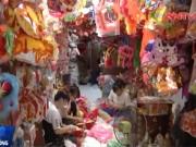 Thị trường - Tiêu dùng - Tết Trung thu, đồ chơi ngoại vẫn chiếm lĩnh thị trường