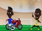 Bóng đá - Pogba tính đua với Usain Bolt bằng... xe máy