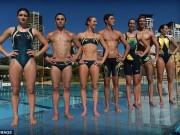 """Thời trang - Đồ bơi tại Olympic ngày càng """"thoáng đãng"""""""