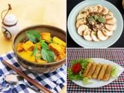 Ẩm thực - 5 món chay ngon - đẹp - dễ làm cho lễ Vu Lan