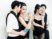 Đông Nhi, Ông Cao Thắng  phải lòng  Galaxy A9 Pro 2016 pin khủng