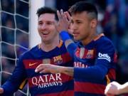 """Bóng đá - Tin HOT tối 16/8: Messi vẫn """"bỏ xa"""" Neymar"""