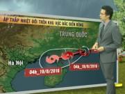 Tin tức trong ngày - Dự báo thời tiết VTV 17/8: Một vùng áp thấp nhiệt đới đã suy yếu