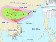 Áp thấp nhiệt đới đã mạnh lên thành bão số 3