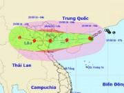 Bão Thần Sét giật cấp 14 sắp đổ bộ Quảng Ninh - Nghệ An