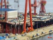 Thế giới - TQ sắp hoàn thành tàu sân bay tự sản xuất đầu tiên