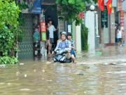 Tin tức trong ngày - Hà Nội nguy cơ ngập sâu do bão Thần Sét