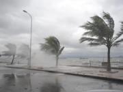 Trưa nay, bão Thần Sét giật cấp 13 đổ bộ Hải Phòng-Ninh Bình