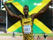 """Thể thao - Hét to """"số 1"""", Usain Bolt ăn mừng cú đúp HCV Olympic 2016"""