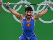 Olympic 2016 - Tin mới Olympic: Nhà vô địch cử tạ bị tước huy chương