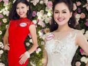 """Thời trang - Top 33 Hoa hậu VN đẹp """"chín mọng"""" với váy dạ hội"""