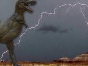 Phi thường - kỳ quặc - Tia sét hình khủng long bạo chúa trên bầu trời Mỹ
