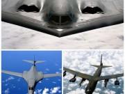 Thế giới - Sức mạnh bộ ba máy bay hạt nhân Mỹ lượn ở Biển Đông