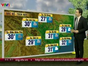 Tin tức trong ngày - Dự báo thời tiết VTV 20/8: Bão Thần Sét tan, lũ quét, sạt lở đất đe dọa vùng núi