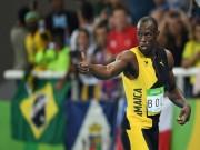 """Olympic 2016 - Usain Bolt thần tốc giành """"hat-trick"""" HCV"""