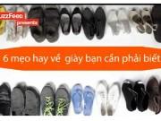 Thời trang - Thích mê với 6 mẹo hay khi dùng giày dép