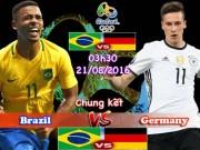 """Bóng đá - Chi tiết Brazil – Đức: """"Đấu súng"""" lấy Vàng (KT)"""