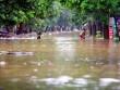 TP Yên Bái ngập sâu trong biển nước sau bão số 3