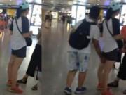Bạn trẻ - Cuộc sống - Cậu bé TQ sàm sỡ 5 gái xinh trong ga tàu gây sốc
