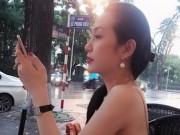 Đời sống Showbiz - Choáng với mặt mộc khi bầu 3 tháng của bà xã Tuấn Hưng