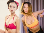 """Thời trang - Ngắm lại 15 hình ảnh sexy của Quỳnh Mai """"siêu vòng 3"""""""