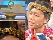 Bạn trẻ - Cuộc sống - Cận cảnh vòng nguyệt quế mạ vàng của Olympia 2016