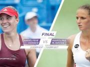 Thể thao - Pliskova - Kerber: Phong độ kinh ngạc (CK WTA Cincinnati)