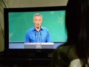 Thủ tướng Singapore ngất khi đọc diễn văn