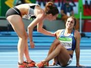 Thể thao - Huy chương đặc biệt cho đôi bạn gặp nạn trên đường đua