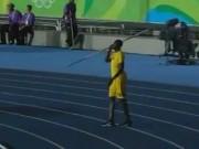 """Olympic 2016 - Usain Bolt: Chạy vô địch, ném lao cũng """"khủng"""""""