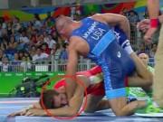 Thể thao - Olympic: Đô vật dạy đối thủ bài học nhớ đời vì bị cắn