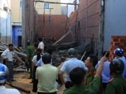 Video An ninh - Sập nhà đang thi công, 6 người thương vong