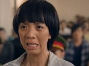 """Phim - Thu Trang mệt lả vì khóc cạn nước mắt trong phim """"Nắng"""""""