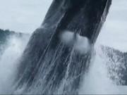 Phi thường - kỳ quặc - Video: Cá voi lưng gù khổng lồ nhảy sát sạt mạn thuyền