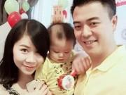 Phim - Vợ chồng MC Tuấn Tú hạnh phúc mừng quý tử tròn 1 tuổi