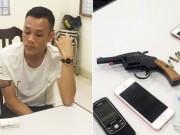 """An ninh Xã hội - Mang súng đi đòi nợ bị CSCĐ """"hỏi thăm"""""""