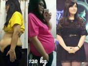 Làm đẹp - Kỳ tích: Cô béo 1,2 tạ giảm 45 kg trong 3 tháng