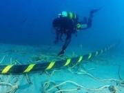 Công nghệ thông tin - Hàn xong cáp quang biển AAG sau 20 ngày bị đứt