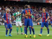 Bóng đá - Barca tiệm cận sự hoàn hảo: Công cường, thủ mạnh