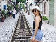 Du lịch - Phố đường ray Hà Nội hấp dẫn du khách nước ngoài