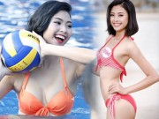 """Thời trang - Hoa hậu VN: Vóc dáng sexy của """"bản sao Tăng Thanh Hà"""""""