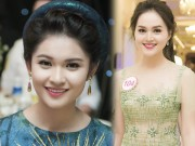 Thời trang - Nhan sắc kiều diễm của thí sinh Hoa hậu VN ở dạ tiệc
