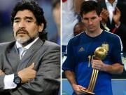 Bóng đá - Maradona: Messi diễn kịch vụ chia tay ĐT Argentina