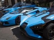 """Thế giới - Tỉ phú Ả Rập trưng dàn siêu xe màu """"độc"""" ở London"""