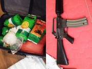 An ninh Xã hội - Hơn 1 yến ma túy đá được bảo vệ bằng súng