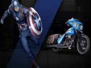 Thế giới xe - Ngắm Harley-Davidson phiên bản Captain America