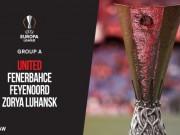 Bóng đá - Vòng bảng Europa League: MU không may mắn