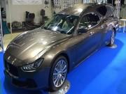 Lộ diện xe tang siêu sang Maserati Ghibli