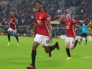 Bóng đá - Rashford tỏa sáng, Mourinho chưa tin dùng cho derby